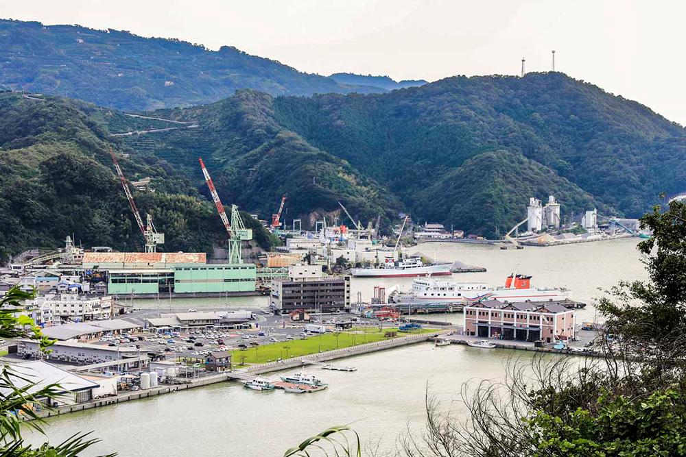 上野さんの畑からの眺望