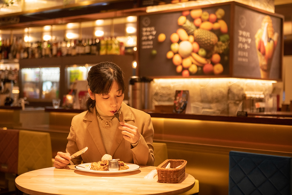 スペシャルスイーツを、スイーツジャーナリスト・平岩理緒氏が実食。[TERROIR OF NISHIUWA/愛媛県八幡浜市]