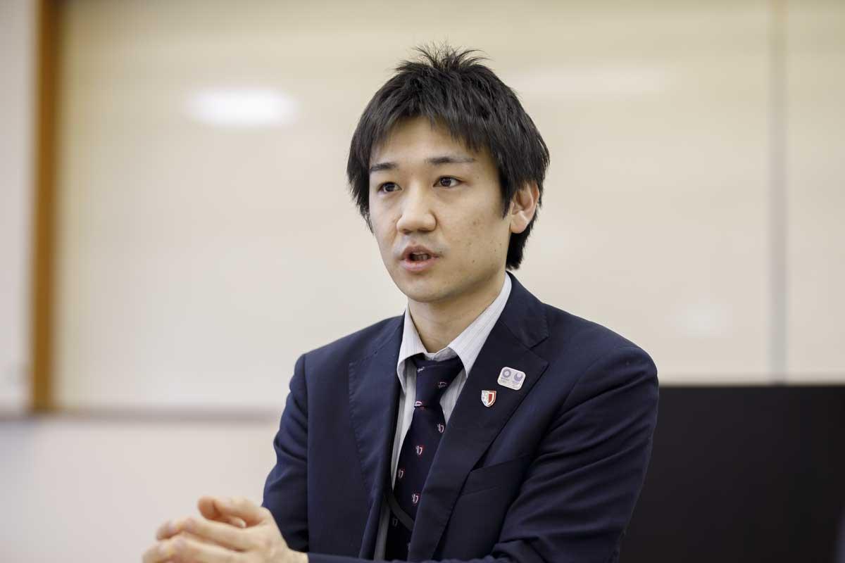 八幡浜市企画財政部長(地方創生担当)で日本大会の事務局長を務める今岡植さん