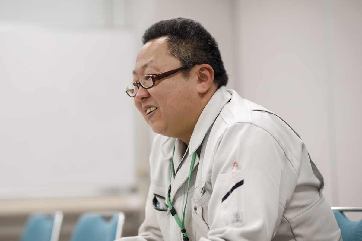 JAにしうわの農業振興部農家支援課の河野晃範さん