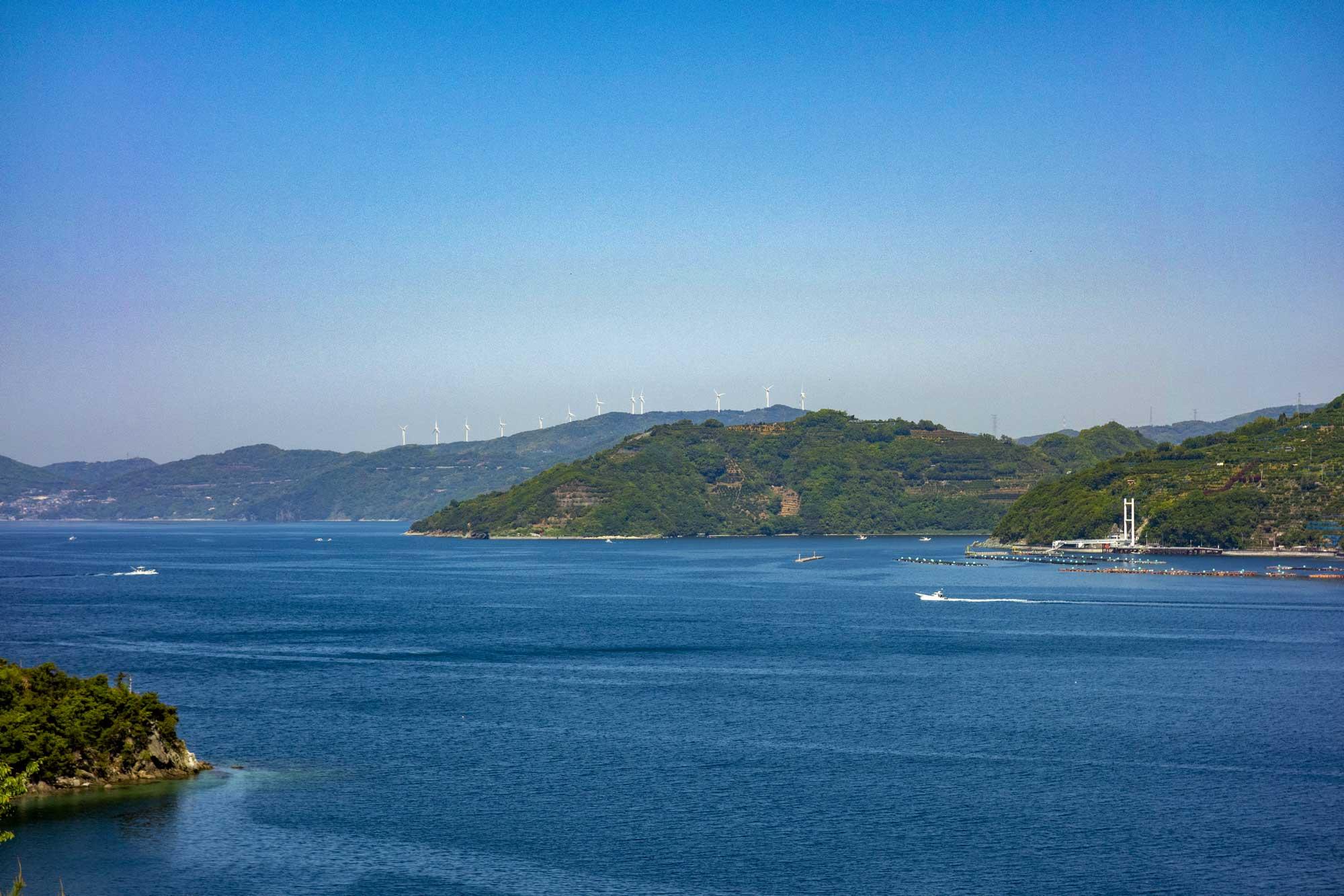 西宇和の佐田岬半島
