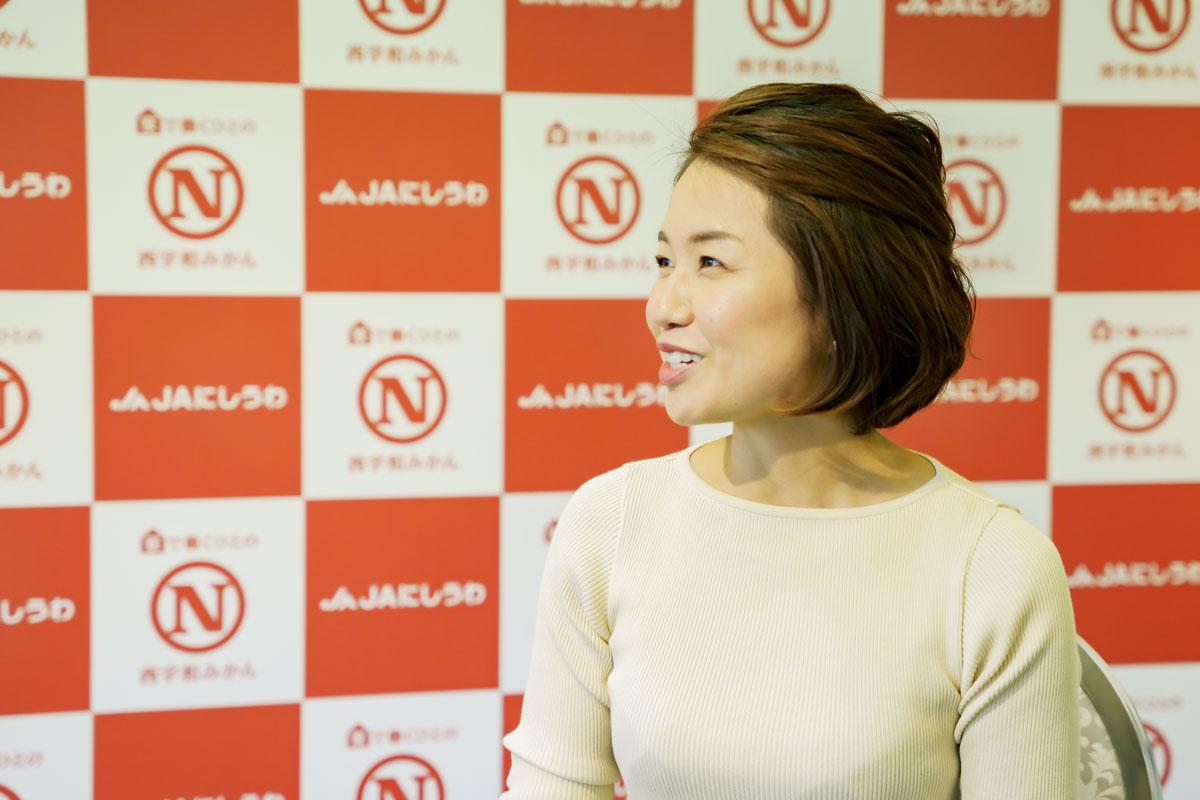 笠井奈津子さん