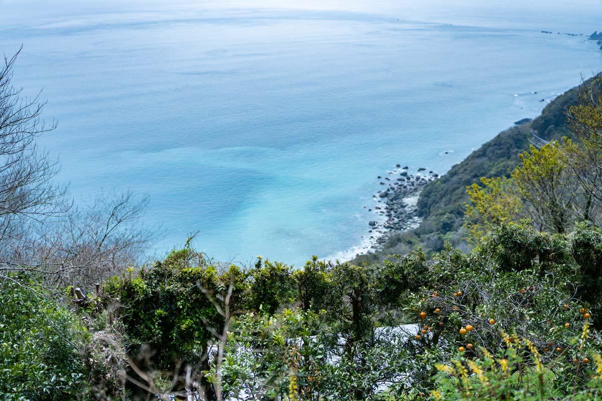 佐田岬半島の景色